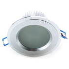 CXHEXIN CX12-S 12W 24-5630 SMD LED 900lm 5000K taklampa - silver