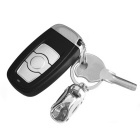 ZIQIAO Fashion Alloy Mini Car Model Keychain - Silver