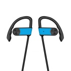 Sport Waterproof Wireless Bluetooth V4.1 Earhook Earphone - Blue