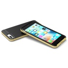 Protective Plastic Back Case for IPHONE 7 PLUS - Gold