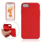 "Protective TPU Back Case Cover for IPHONE 7 4.7"" - Red"