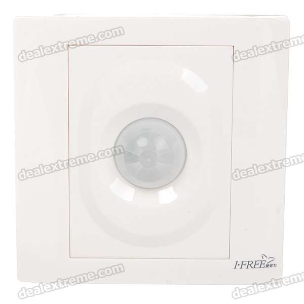 Wall Mount Automatic Inductive/Voice Operated Switch (180~250V)