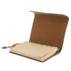 EDCGEAR Vintage Leather Water Resistant Notepad Tactical Field Book