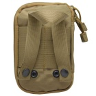 Protective Tactical CS Equipment Accessories Nylon Storage Bag - Tan