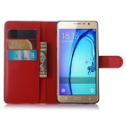 Lichee Pattern Protective Case for Samsung Galaxy On7 /On7 Pro