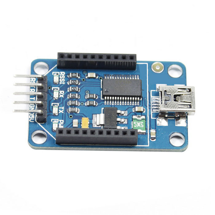 Mini bluetooth xbee ft rl usb to serial adapter module