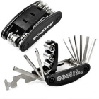 CoolChange Multifunctional Folding Manual Repair Tool - Black + Silver