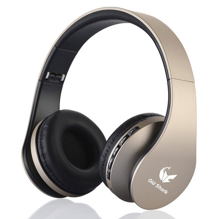 OldShark® Multifunction Wireless Stereo Bluetooth Headset - Champagne