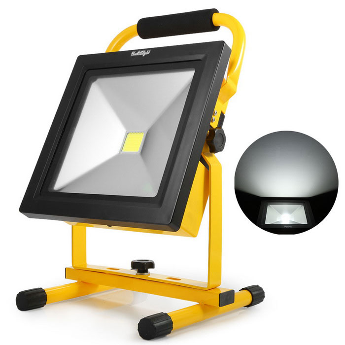 YouOKLight YK0952-EU 20W LED Rechargeable Flood Light Lamp (EU Plug)Floodlights<br>Form  ColorBlack + YellowColor BINCold WhiteModelYK0952-EUMaterialAluminum alloy + plasticQuantity1 DX.PCM.Model.AttributeModel.UnitWaterproof GradeIP65Power20WRated VoltageAC 85-265 DX.PCM.Model.AttributeModel.UnitConnector TypeOthers,AdapterChip BrandOthers,N/AEmitter TypeCOBTotal Emitters1Theoretical Lumens2000 DX.PCM.Model.AttributeModel.UnitActual Lumens1700 DX.PCM.Model.AttributeModel.UnitColor Temperature6000KDimmableNoBeam Angle120 DX.PCM.Model.AttributeModel.UnitCertificationCE, UL, FCCPacking List1 * LED flood light1 * Adapter (AC 85~265V, 95cm cable)1 * Car charger (DC 12~24V, 95cm cable)<br>