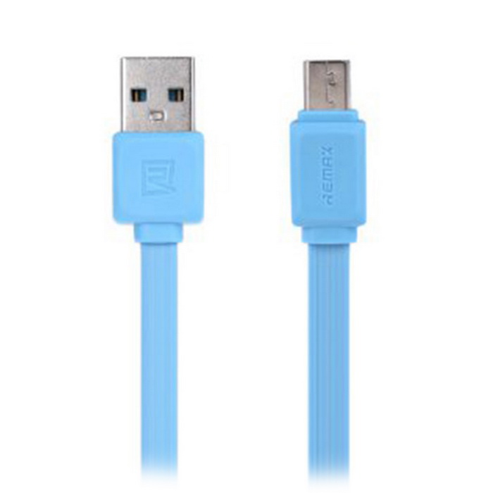 REMAX Fast Series Micro USB / USB 2.0 Charge Cable - Blue (100cm)