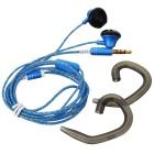 Ovleng ip-310 Universal 3.5mm Plug Wired In-Ear Earphones - Blue