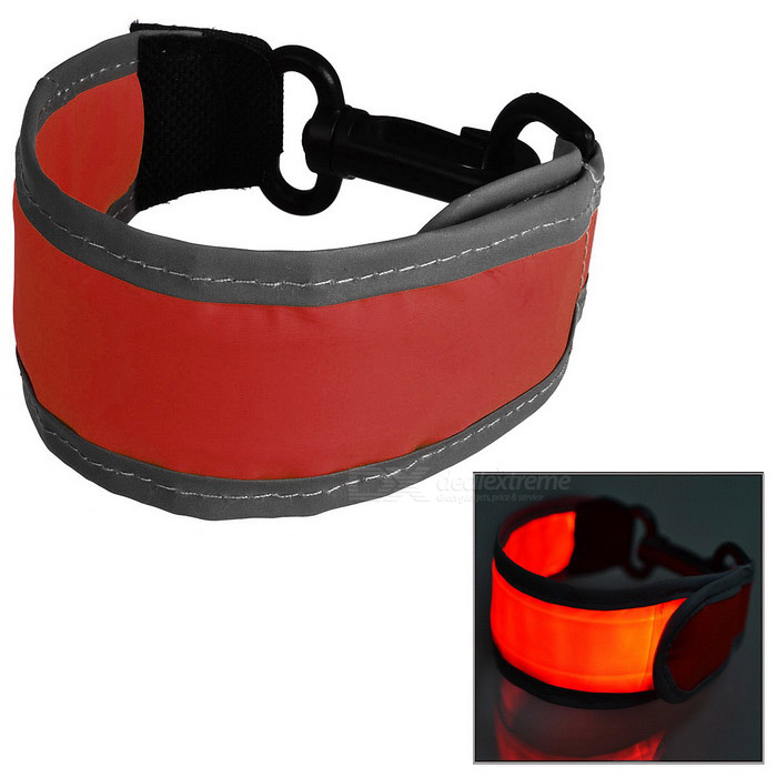 CTSmart Outdoor Sports Luminous Reflective Hanging Belt - Red