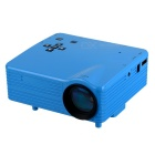 HD Mini LED Home Theater Projector - Blue (US Plugs)