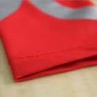 Outdoor Sports Stripe Pattern Arm Protective Sleeve - Red (XL)
