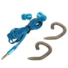 Ovleng ip-350 Universal 3.5mm Plug Wired In-Ear Earphones - Blue