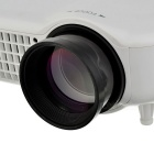"180W 200"" LED HD Home Projector w/ VGA / AV / HDMI / USB - White"