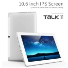cubo de la tableta del teléfono 3G Talk11 PC 10.6inch 1366 * 768 IPS Android 5.1