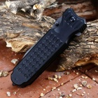 Multifunctional Folding Knives With Cutting Knife - Black