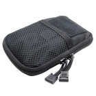 Protective Tactical CS Equipment Accessories Nylon Storage Bag - Black