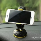 Car Adjustable 360 Degree Rotation Suction-Cup Phone Holder Bracket