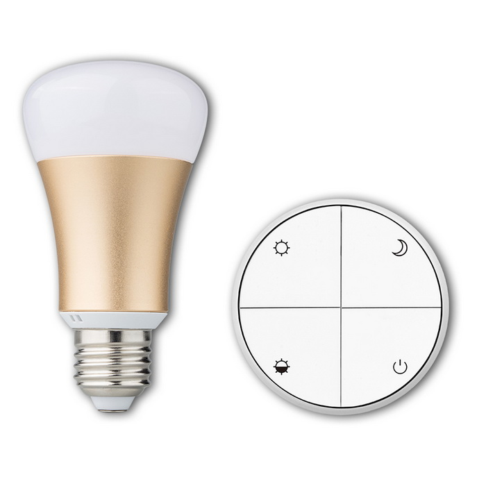Battery-Free Wireless Remote Control E27 Smart Dimmable LED Bulb
