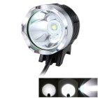 meshion T6 LED blanco 3-Mode resistente al agua luz LED bicicleta