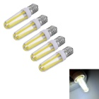 marsing 5pcs E14 dimmable 4W 400lm COB LED холодная белая лампочка