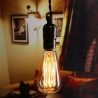 ST64 E26 60W Warm White Vintage Dimmable Tungsten Filament Bulb (6PCS)