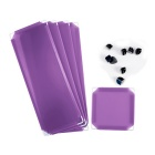DIY Home Decoration Office PP Plastic Umbrella Holder - Purple