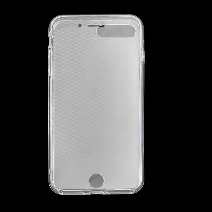 TPU tampa da caixa de corpo inteiro ultra-fino para IPHONE 7 plus - transparente