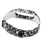 Skull Pattern Replacement TPU Wrist Band for Xiaomi MI Band 2