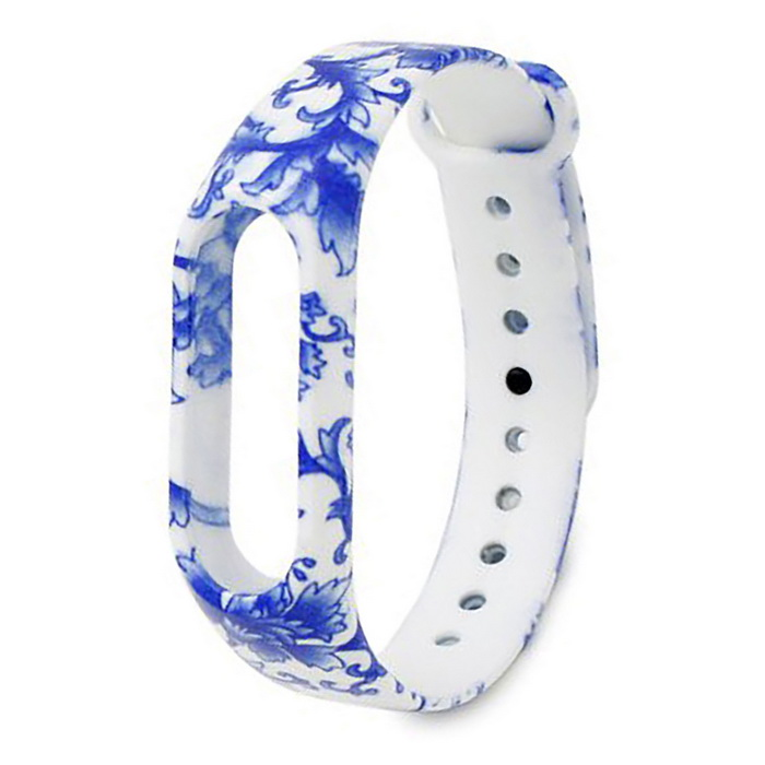 Porcelain Pattern Replacement TPU Wrist Band for Xiaomi MI Band 2