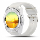V8 Circular Touch Screen Smart Watch Support SIM Card, 32GB TF Card