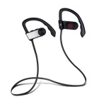 Sport Waterproof Wireless Bluetooth V4.1 Earhook Earphone - Silver