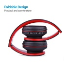 OLDSHARK Multifunction Wireless Stereo Bluetooth Headset - Black + Red