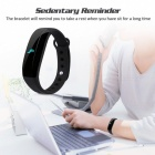 "CUBOT V2  0.88"" OLED Bluetooth V4.0 Smart Band Bracelet - Black"