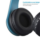 OLDSHARK Multifunction Wireless Stereo Bluetooth Headset - Blue