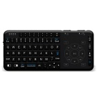Rii RT504 Multimedia Wireless Mini Keyboard with Touchpad - Black