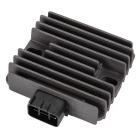 Aluminum Alloy 6 Pin Motorcycle Voltage Regulator Rectifier for Yamaha XVS1100 - Brown
