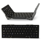 MAIKOU Teclado sem fio Bluetooth para Android Windows iOS - Preto
