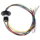 High Current Capsule Slip Ring 12 Circuits 5A/Circuit for Wind Turbine