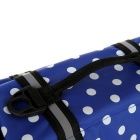Dog Outdoor Oxford Cloth Swimming Life Jackets -Blue + Black (S)