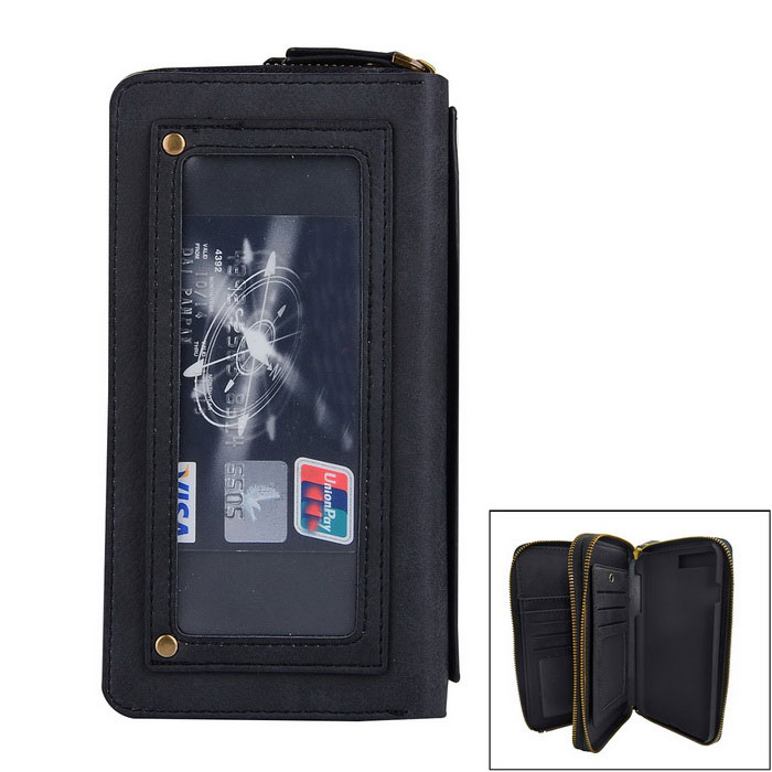 Multifunction PU Leather Wallet Case w/ Card Slots for IPHONE 7 Plus