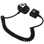 VILTROX OC-E3 ABS Spring TTL Cable for Canon - Black (1.5m)