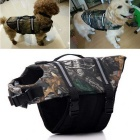 Dog Outdoor Dog Oxford Cloth Swimming Life Jackets (M)