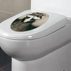 Removable DIY 3D Personalized Snake Decoration Toilet Sticker