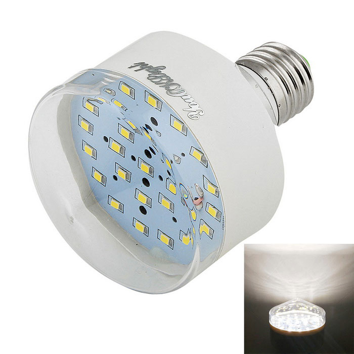 YouOKLight E27 5W 25*SMD 2835 6000K Cold White LED Bulbs (AC 90-265V)