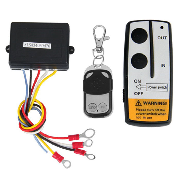 12V 12 Volt Wireless Kit Controle Remoto para Truck Jeep ATV Winch