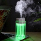 2.2W USB Powered Colorful Light Touch Humidifier - White + Transparent