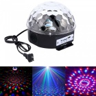 6Color LED Music Crystal Magic Ball Effect Light USB Stage Lighting+Remote Control+Bluetooth Control